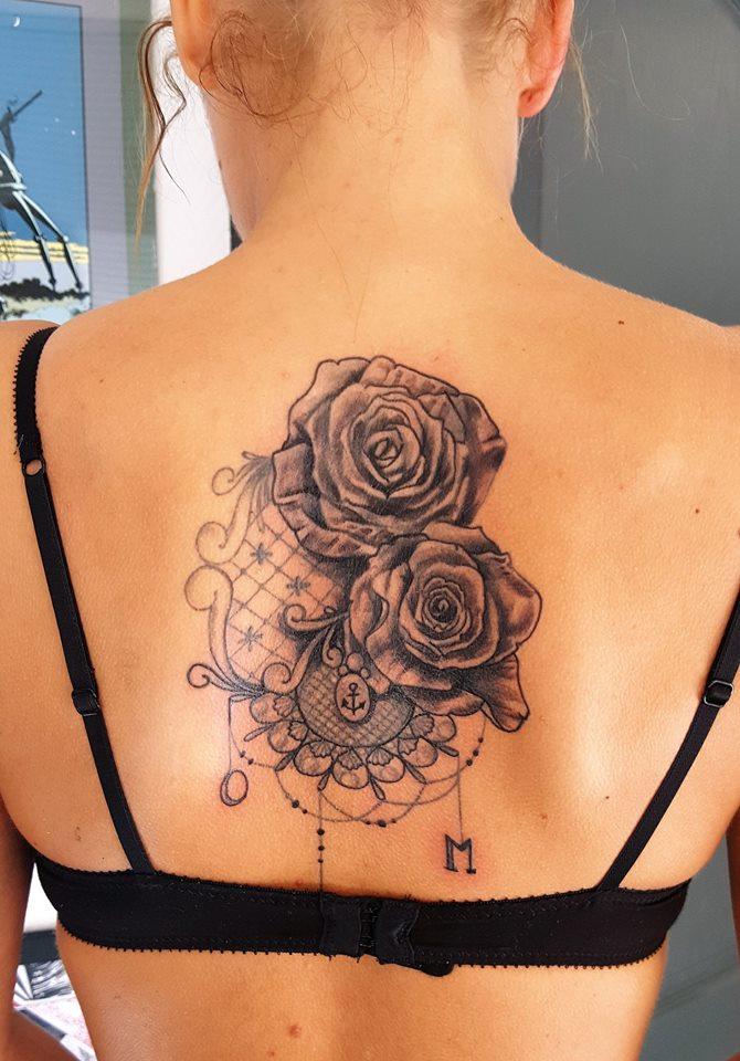 Votre Tatouage Fleur A Nancy Crock Ink Tatouage Nancy