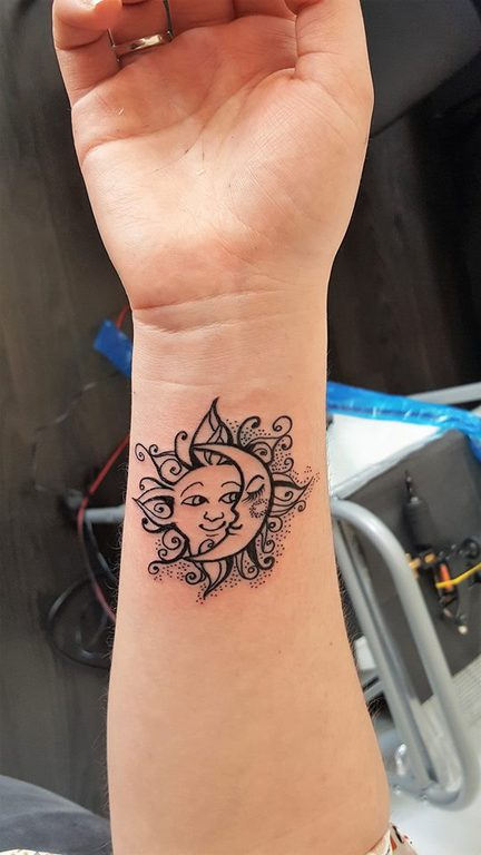 Tatoueur Nancy Le Tatouage Lune Crock Ink Tatouage Nancy